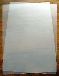 Cut Your Own Stencil - Stencil Boards x 2, A4 PVC - UKCC0226